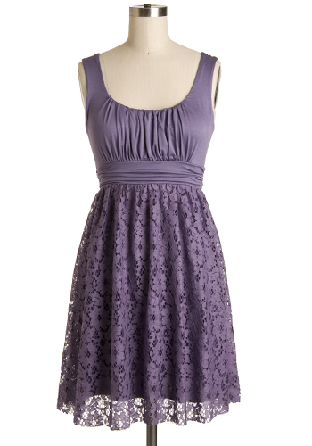 It\'s Swell Dress in Lilac