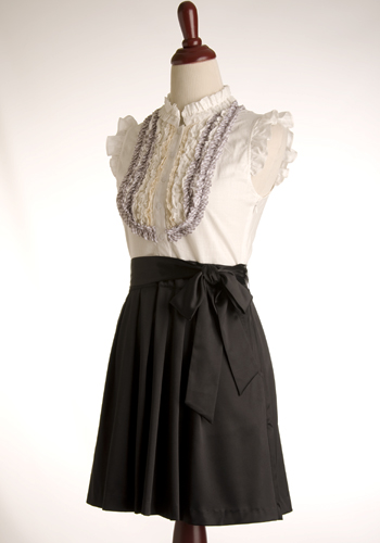 Miss Preppy Dress - Black