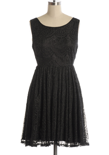 Masquerade Ball Dress in Black