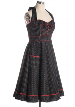 PRE-ORDER FEBRUARY: All Shook Up Dress in Black