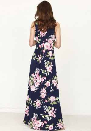 Full Bouquet Maxi Dress