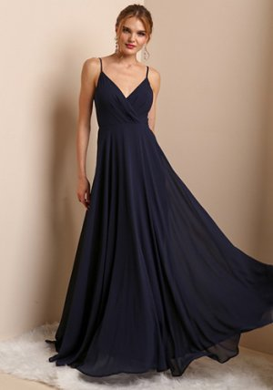 Bella Dress in Navy