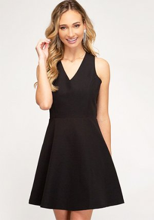 Choice Of Beverage Dress in Black