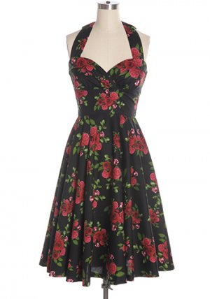 Bal de La Rose Dress in Black