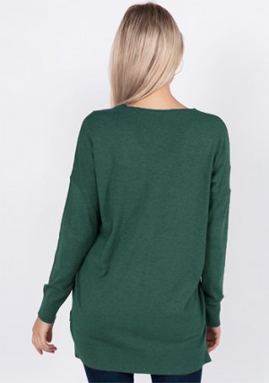 Saying Hilo Sweater in Green