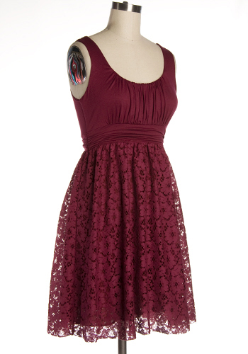It's Swell Dress in Sangria - Click Image to Close