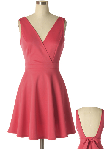 Bachelorette Party Dress in Red
