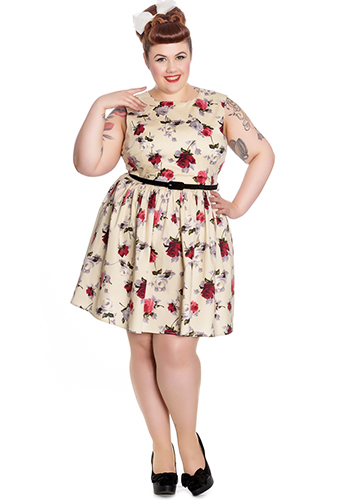 Smell The Roses Dress - Click Image to Close