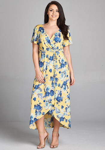 You\'re My Sunshine Dress in PLUS