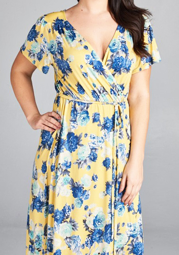 You're My Sunshine Dress in PLUS