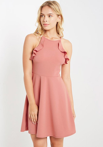 Peach Orchard Dress - Click Image to Close