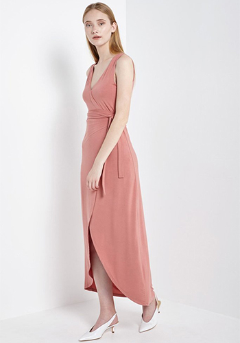 Peach Bellini Dress - Click Image to Close