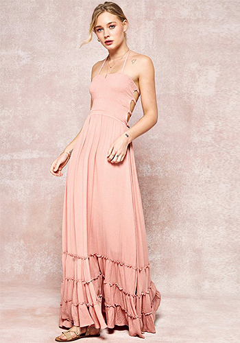 Weekend Drive Maxi Dress - Click Image to Close