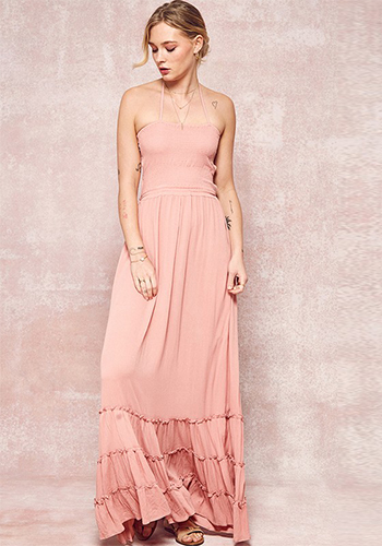 Weekend Drive Maxi Dress