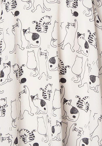 Playful Cats Dress