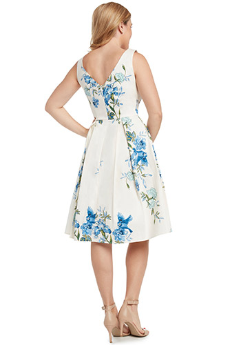 Bluebirds Dress