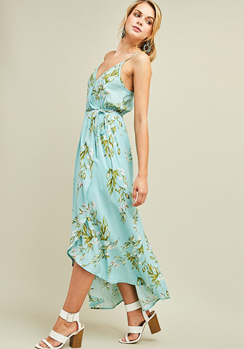 Under The Willow Tree Midi Dress - Click Image to Close