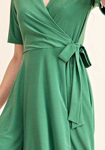 Bold Moves Dress in Green - Click Image to Close