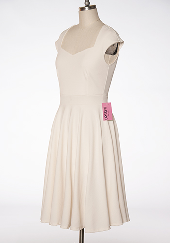 Real Sweetheart Dress in Ivory - Click Image to Close