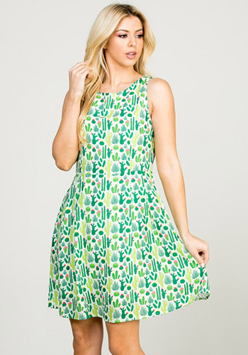 Cacti Collection Dress