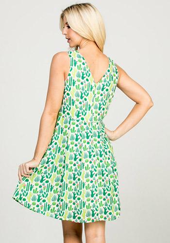 PRE-ORDER: Cacti Collection Dress