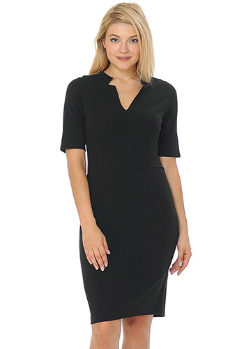 Be Diplomatic Dress in Black