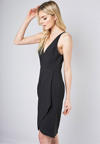 Manhattan Apartment Dress in Black - Click Image to Close