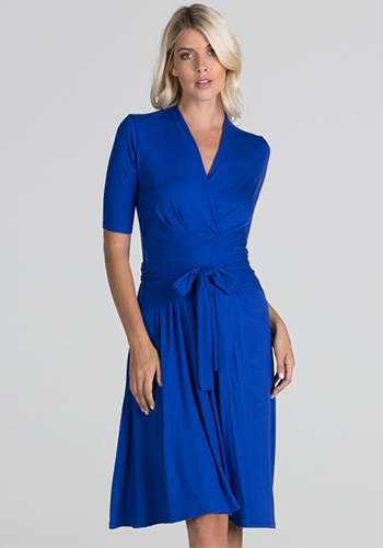 Catherine Dress in Royal Blue