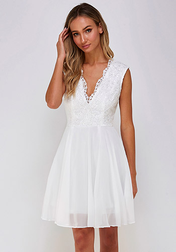 Invitation Only Dress in Ivory