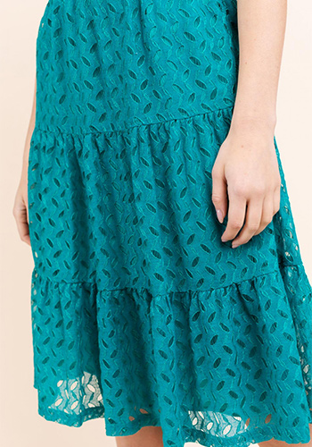 PRE-ORDER FEBRUARY: Steal My Heart Dress in Teal