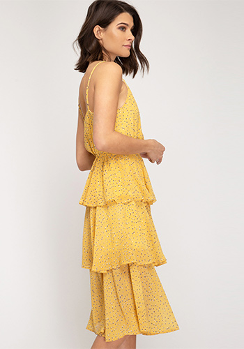 Sunny Side Up Dress in Yellow - Click Image to Close