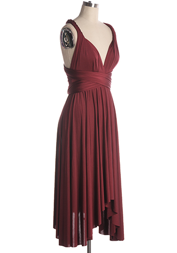 669eb0d6dba It s Magical Infinity Dress in Burgundy - 59.95   Robes de bal - Canada
